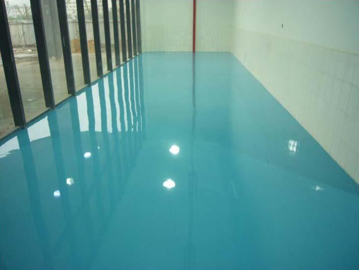 環氧彩地坪涂裝系統